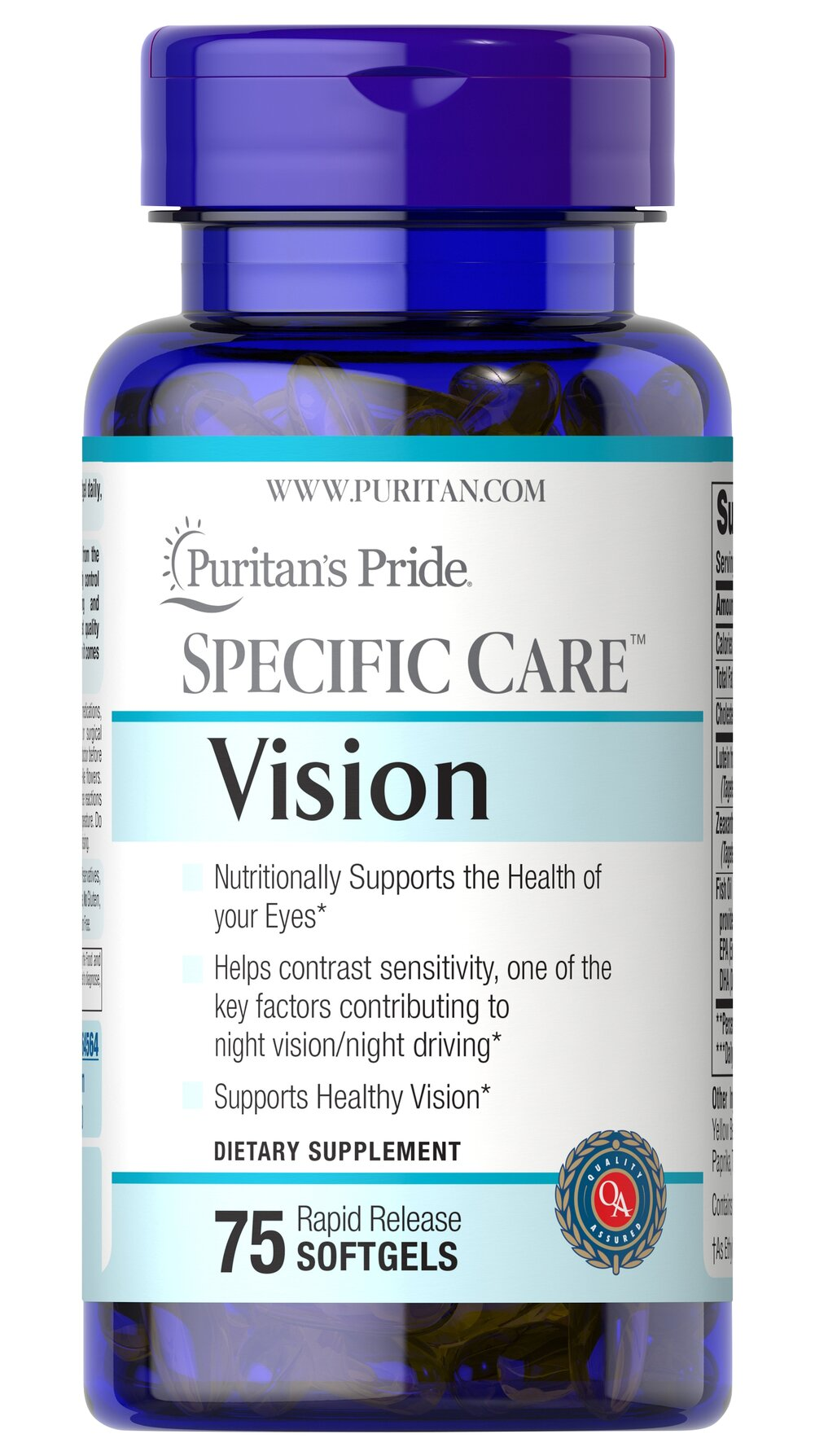 Specific Care™ Vision Thumbnail Alternate Bottle View