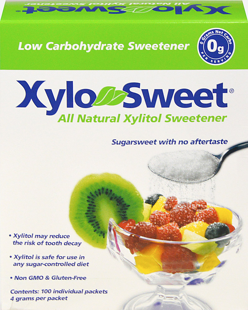 XyloSweet® Natural Xylitol Sweetener Packets