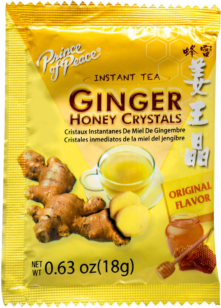 Ginger Honey Crystals Thumbnail Alternate Bottle View