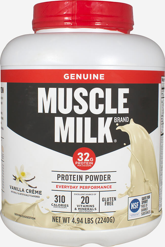 Muscle Milk® Vanilla Crème Thumbnail Alternate Bottle View