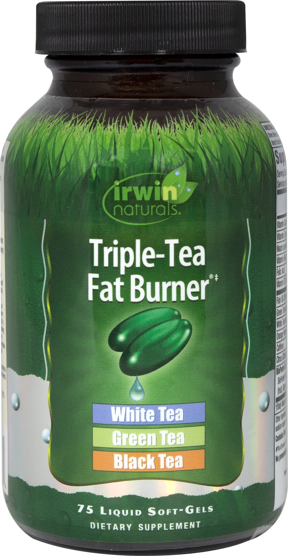 Triple Tea Fat Burner Thumbnail Alternate Bottle View
