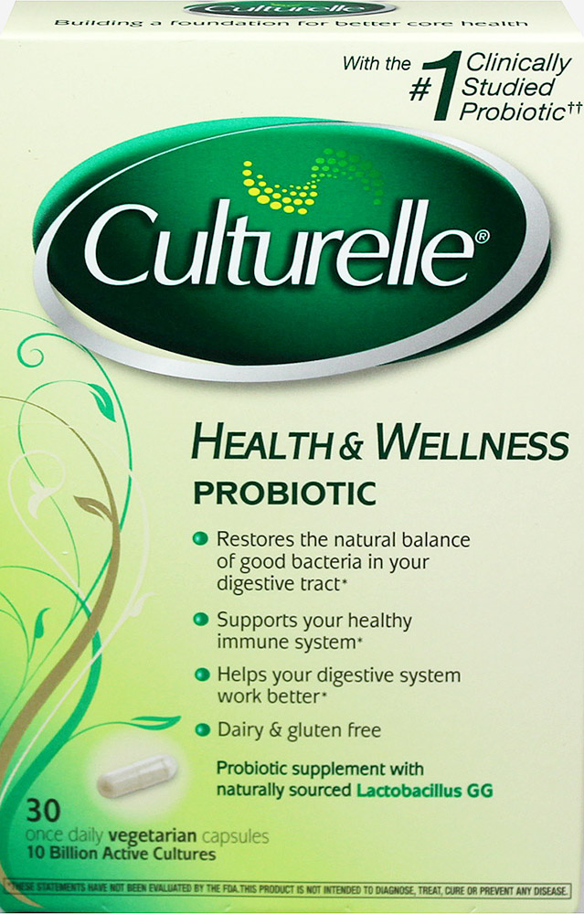 Culturelle® Probiotic Thumbnail Alternate Bottle View
