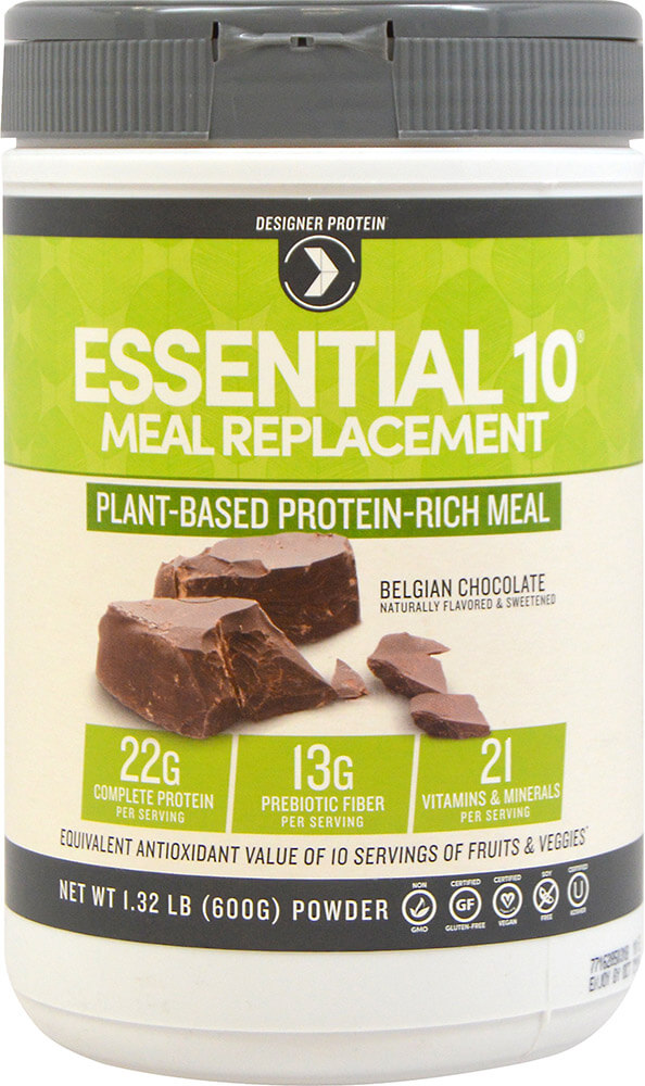 Essential 10 Meal Replacement 100% Plant Based Protein Chocolate