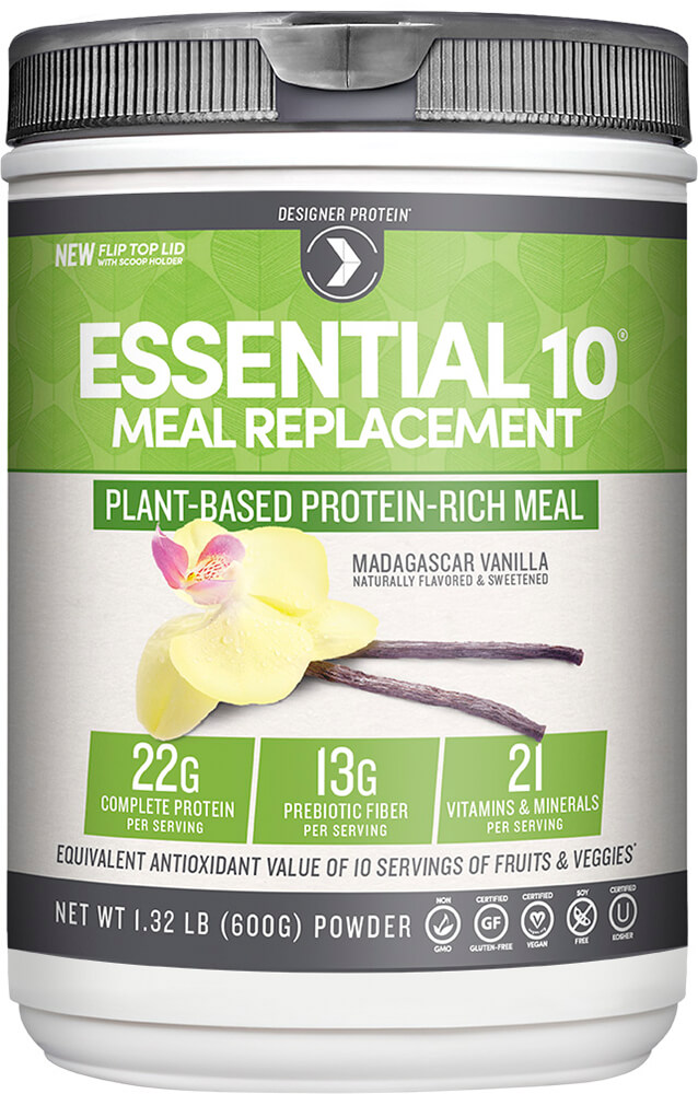 Essential 10 Meal Replacement 100% Plant Based Protein Vanilla