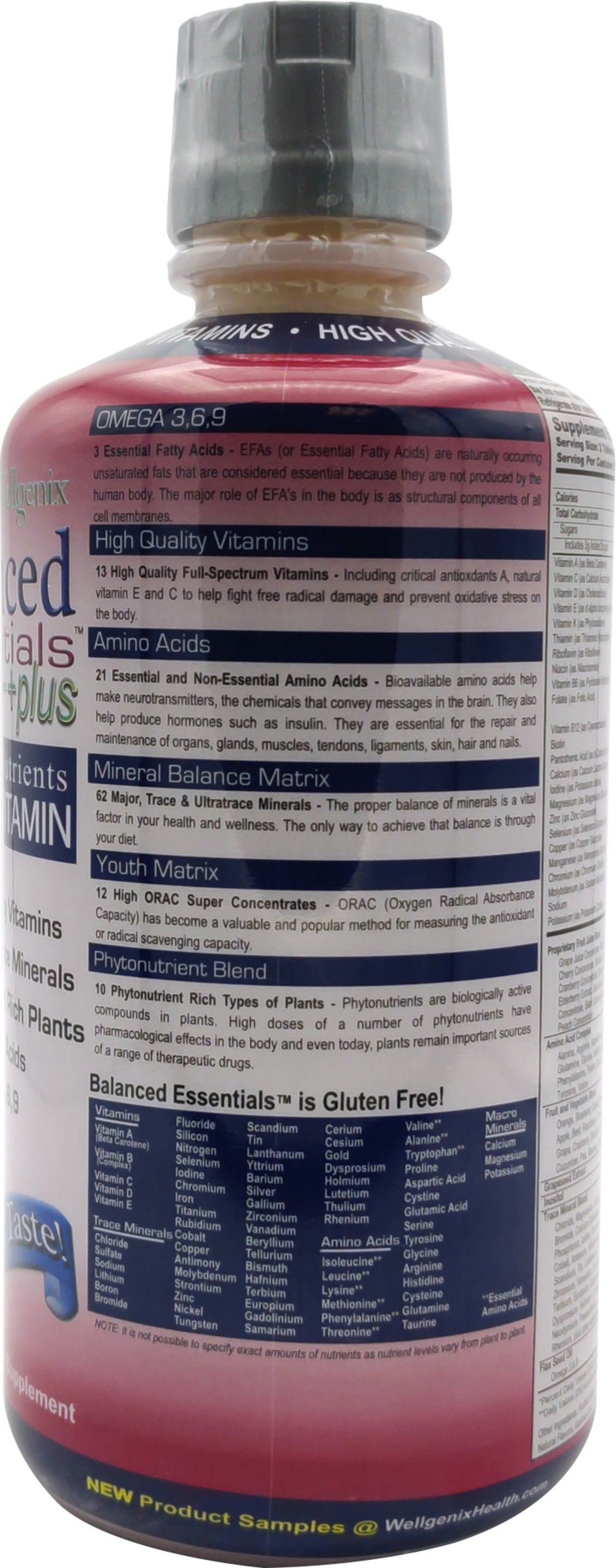 Balanced Essential™ Multivitamin Thumbnail Alternate Bottle View