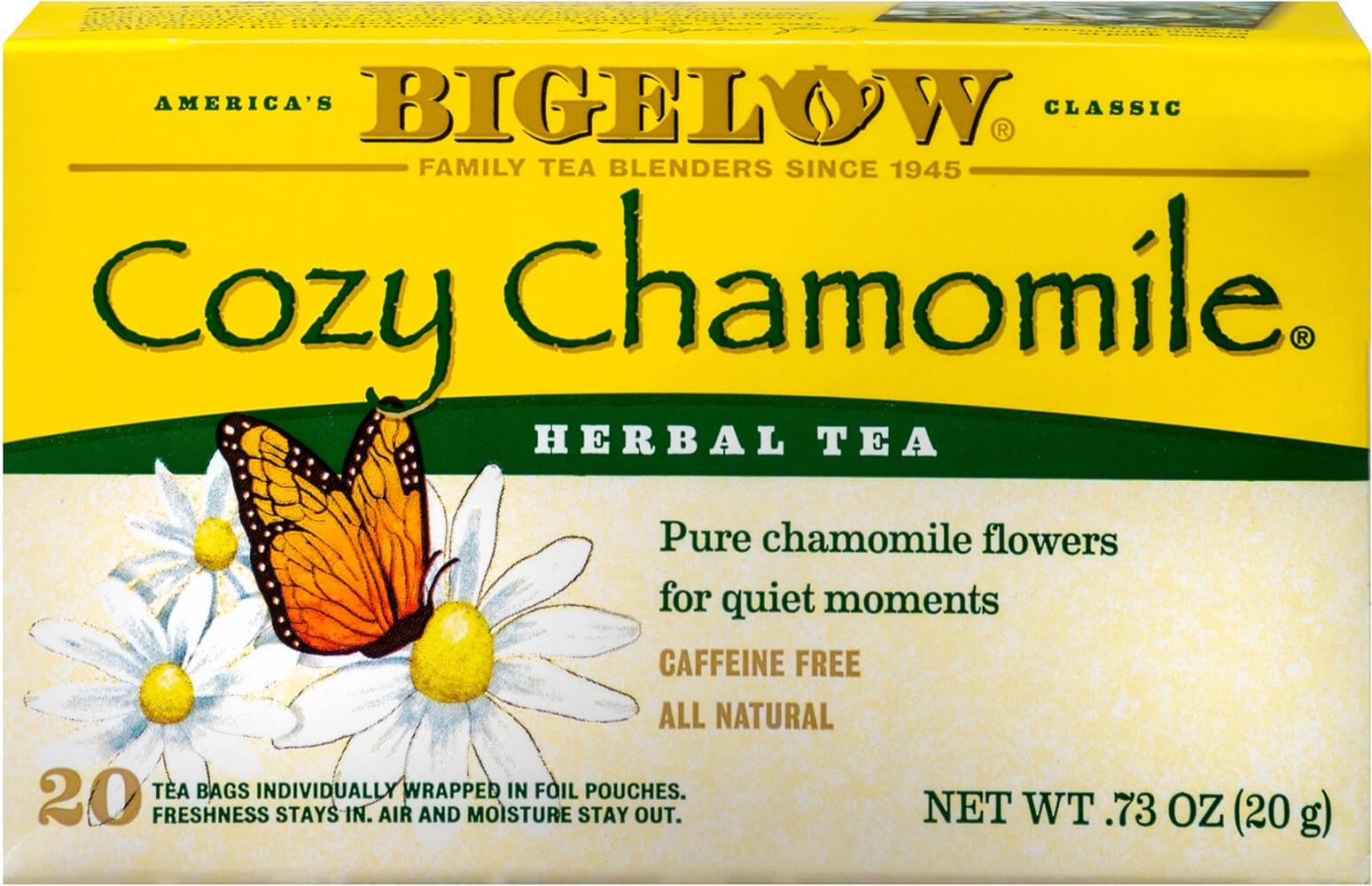 Cozy Chamomile Herb Tea Thumbnail Alternate Bottle View
