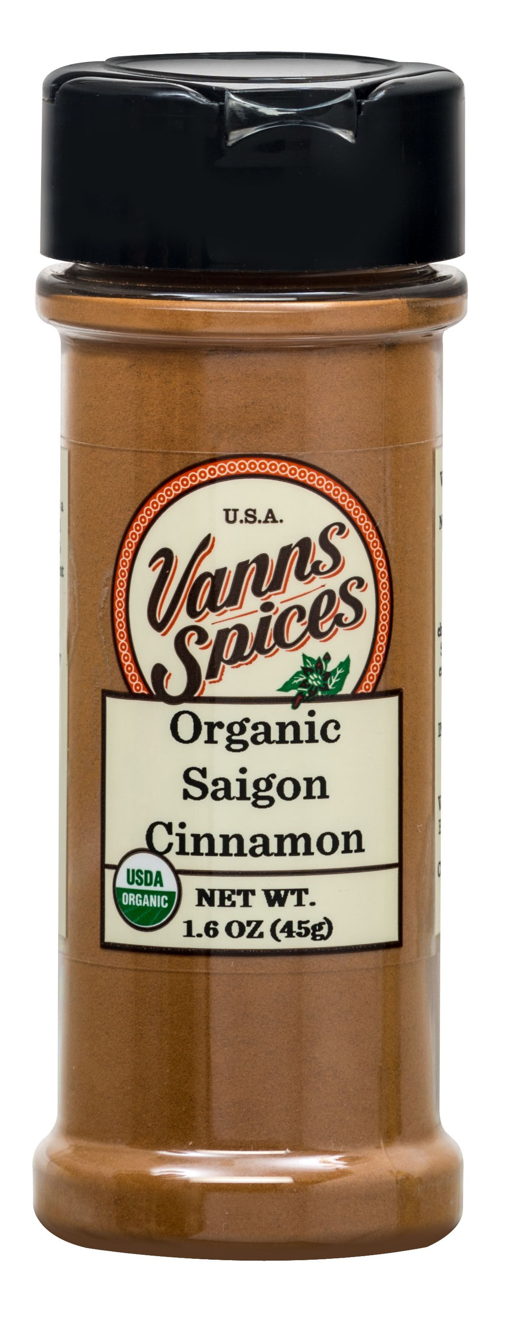 Organic Ground Saigon Cinnamon
