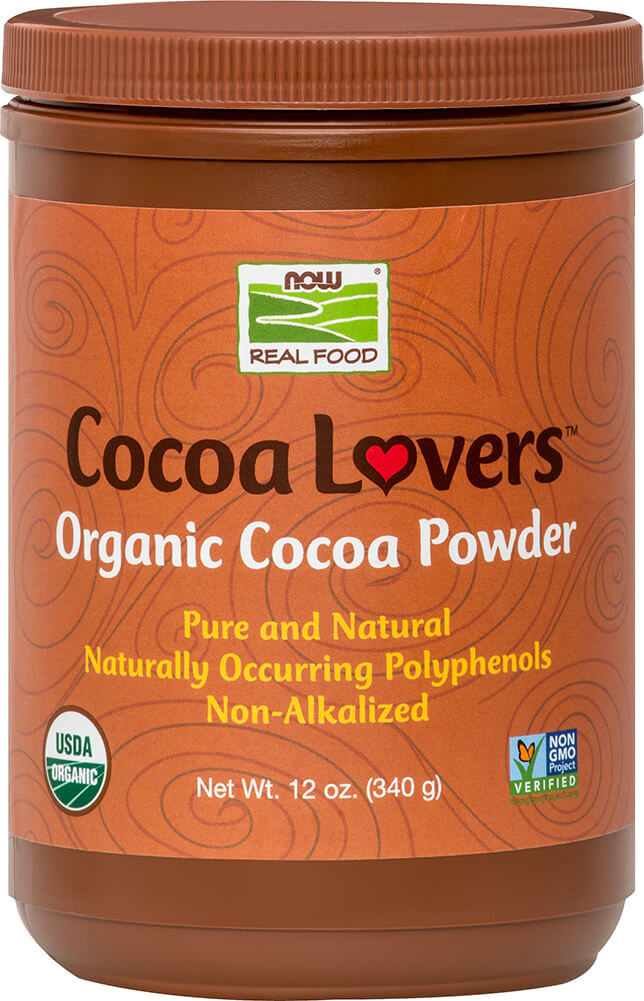 Organic Cocoa Powder Thumbnail Alternate Bottle View