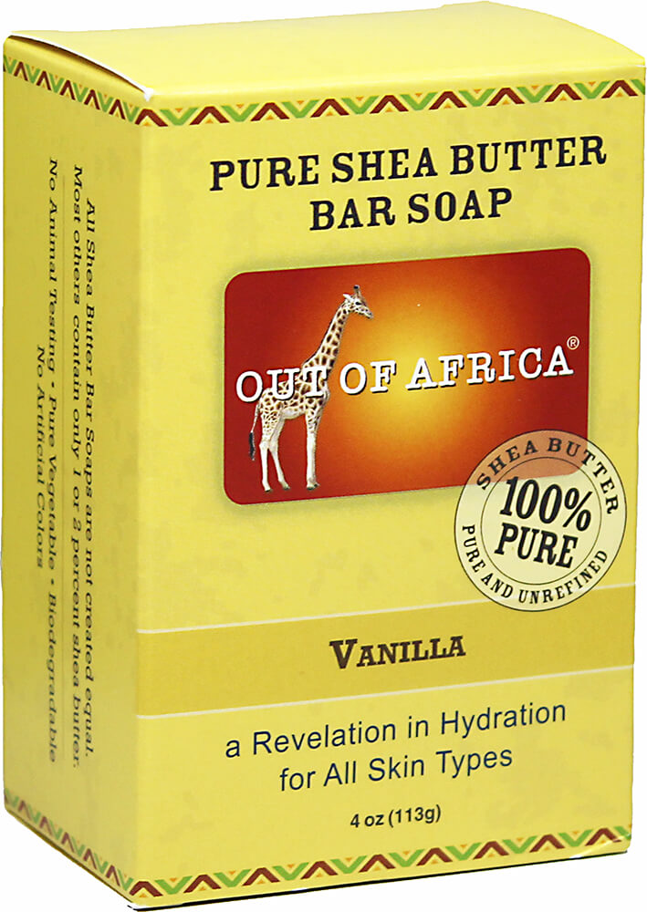 Out of Africa® Shea Butter Bar Soap Vanilla