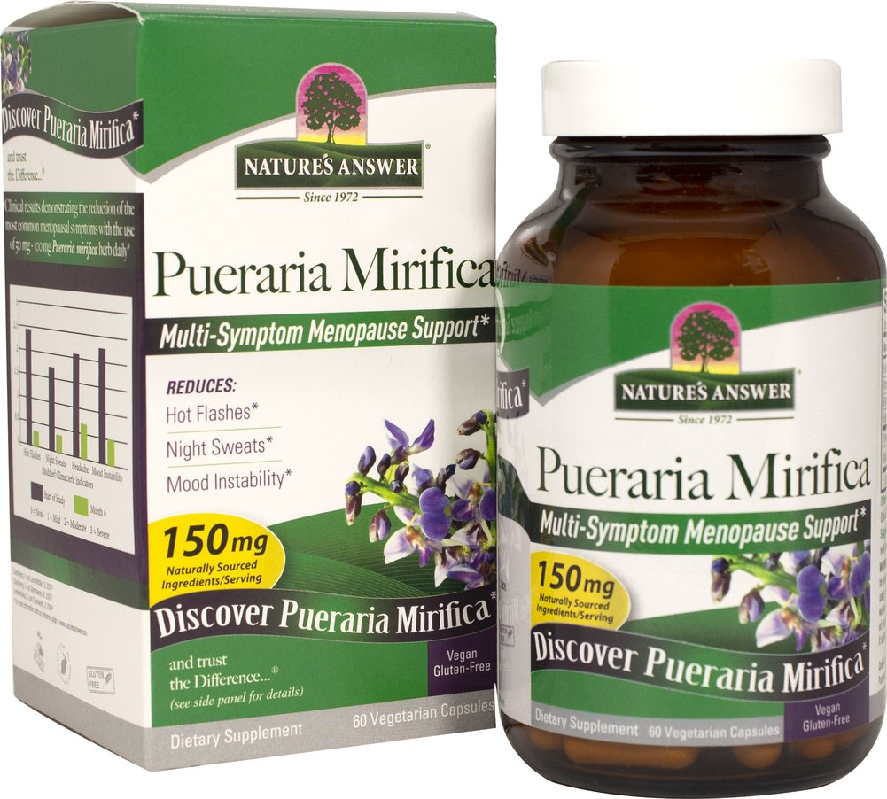 Pueraria Mirifica Thumbnail Alternate Bottle View