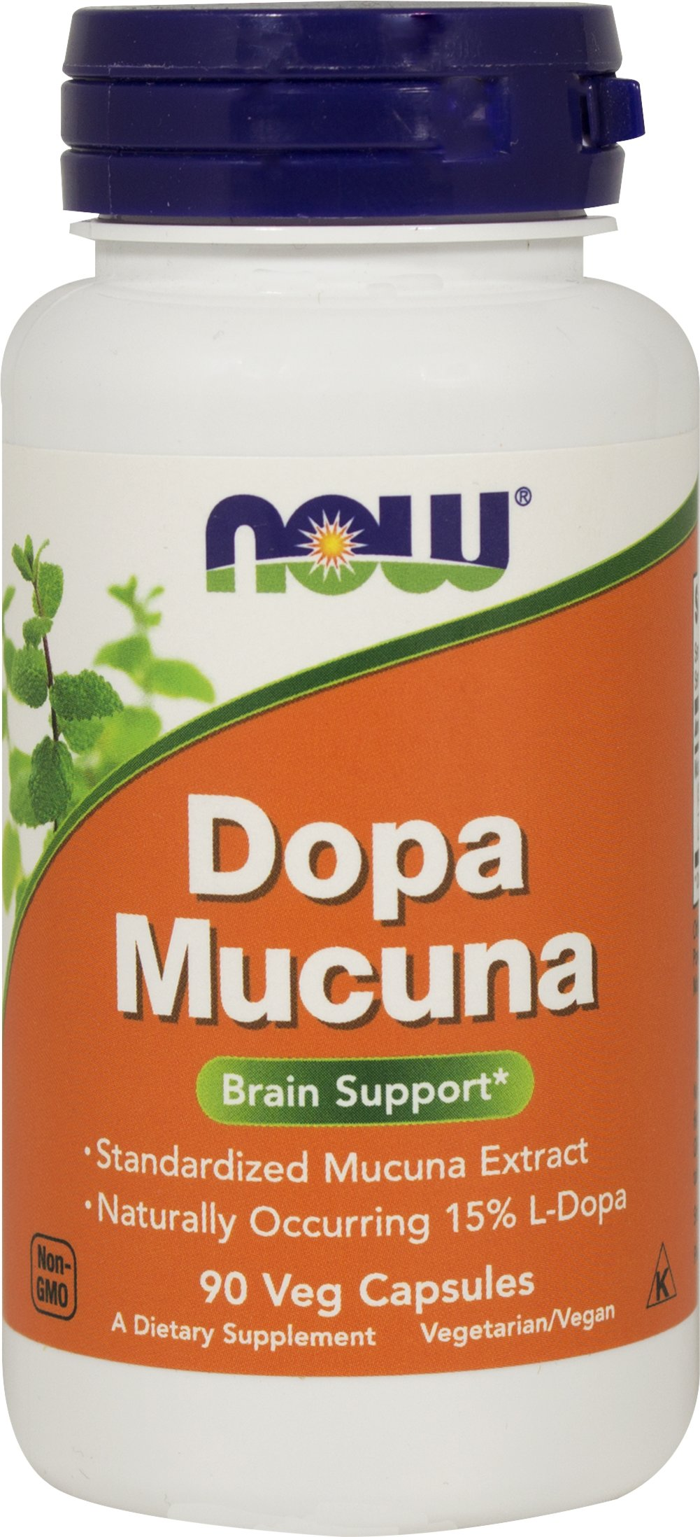 DOPA Mucuna 400 mg Thumbnail Alternate Bottle View