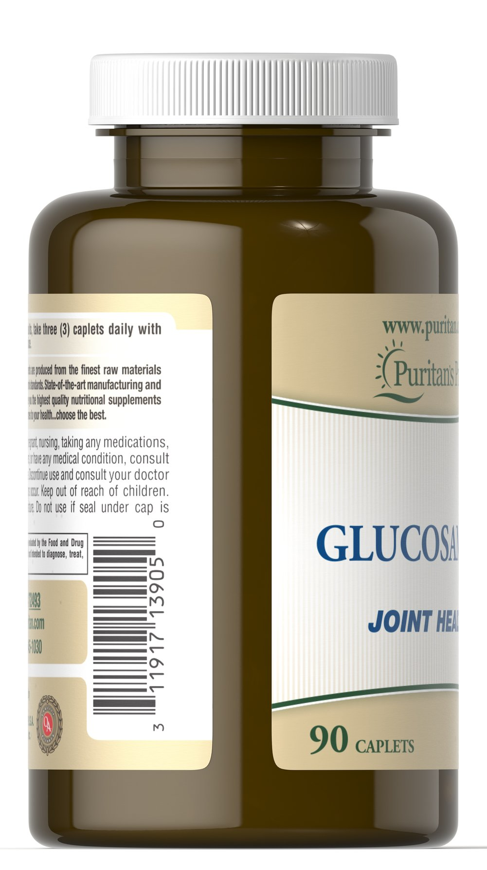 Glucosamine Thumbnail Alternate Bottle View