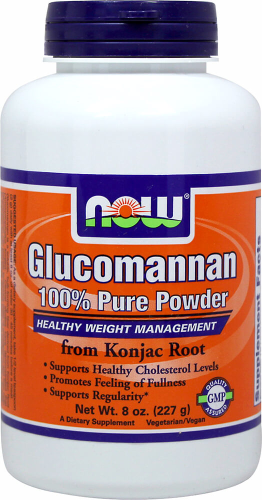 Glucomannan Powder Thumbnail Alternate Bottle View
