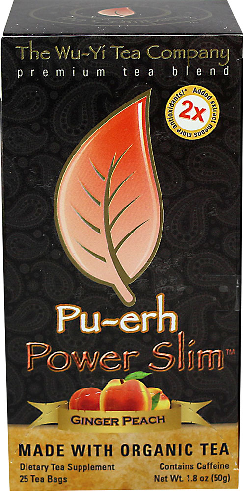 Wu-Yi Pu-Erh Power Slim Ginger Peach Tea