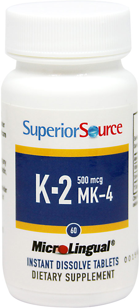 Vitamin K-2 500 mcg Sublingual