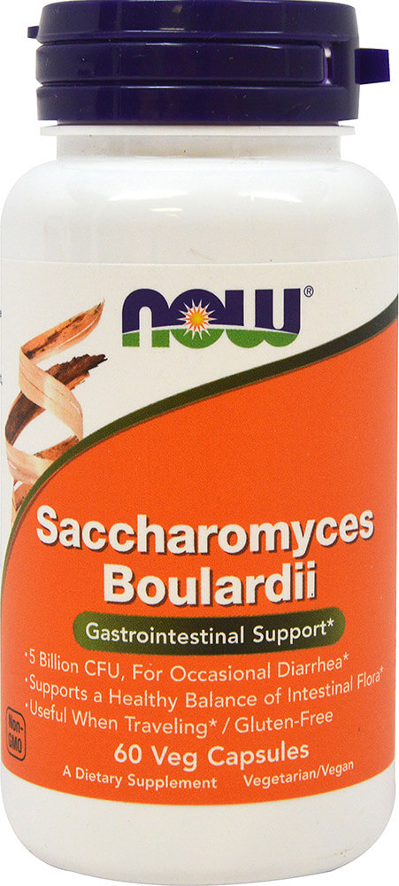 Saccharomyces Boulardii 5 Billion CFU