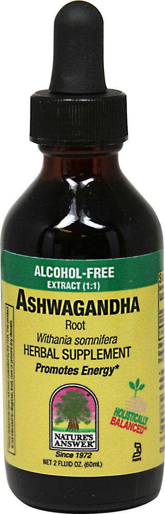 Ashwagandha Liquid Extract 2000 mg Alcohol Free