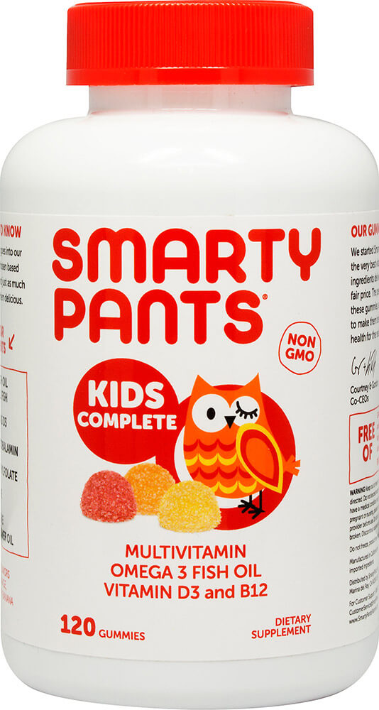 SmartyPants™ All-in-One Gummy Vitamins with Omega 3's and Vitamin D