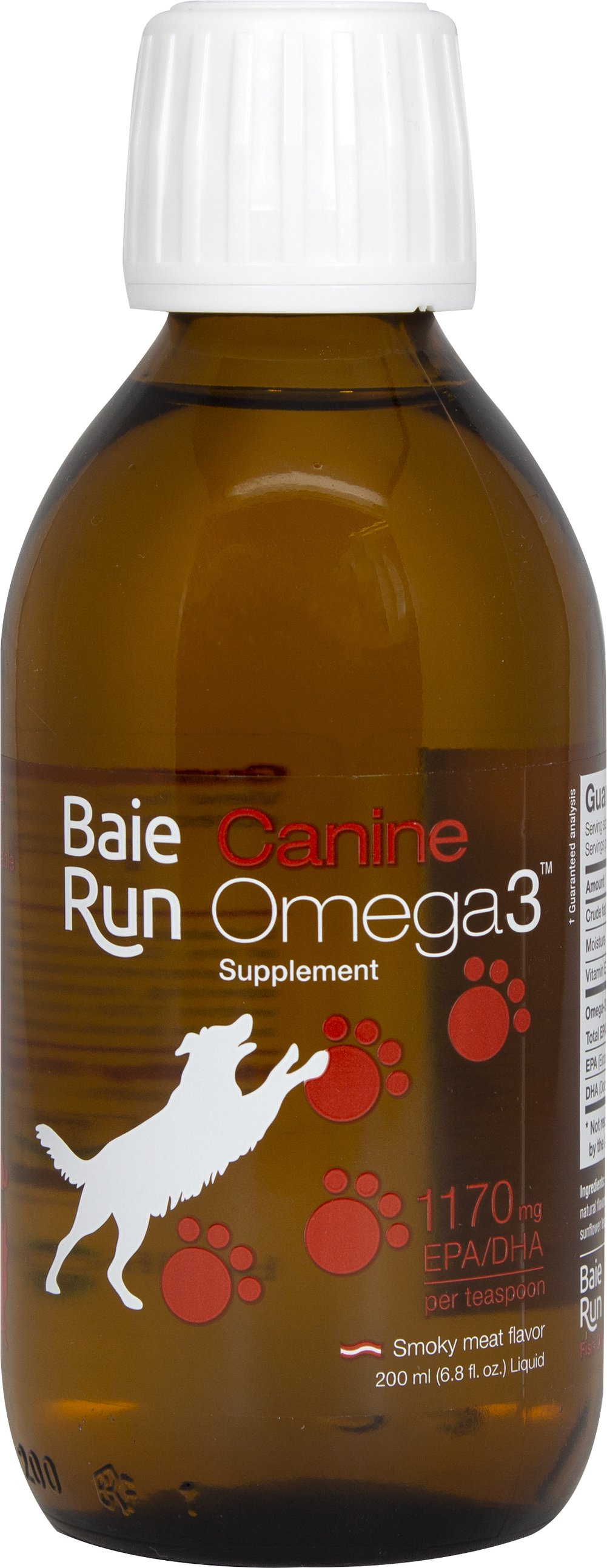 Canine Omega-3 Thumbnail Alternate Bottle View