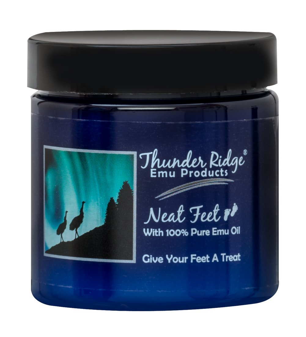 Neat Feet With 100% Pure Emu Oil Thumbnail Alternate Bottle View