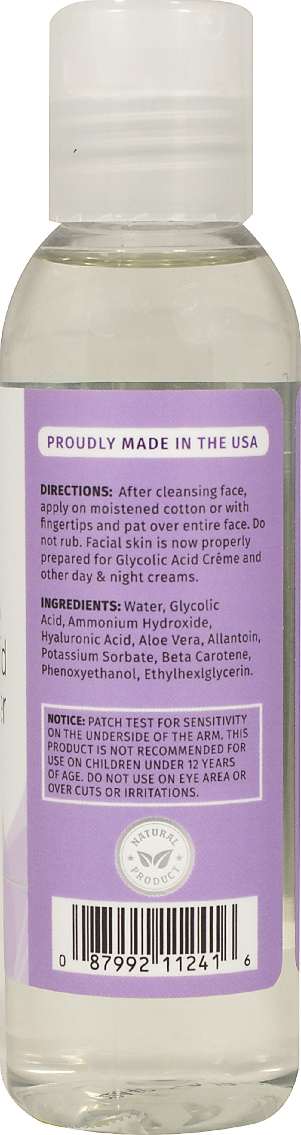 Glycolic Acid Facial Toner