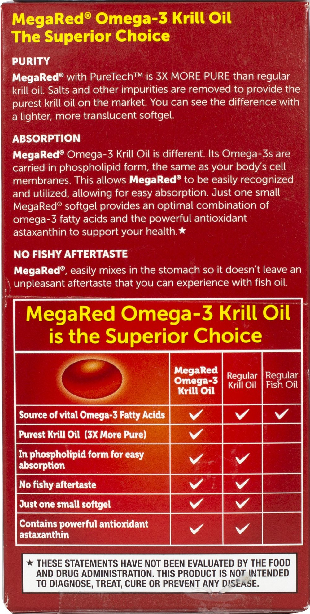 MegaRed™ Omega-3 Krill Oil 350 mg