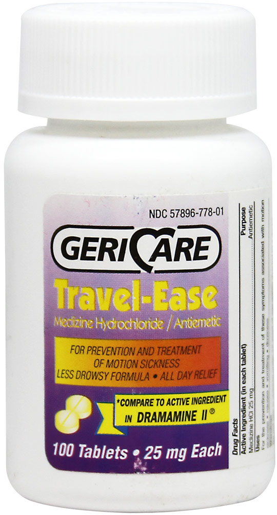 Travel-Ease Meclizine Hcl 25 Mg