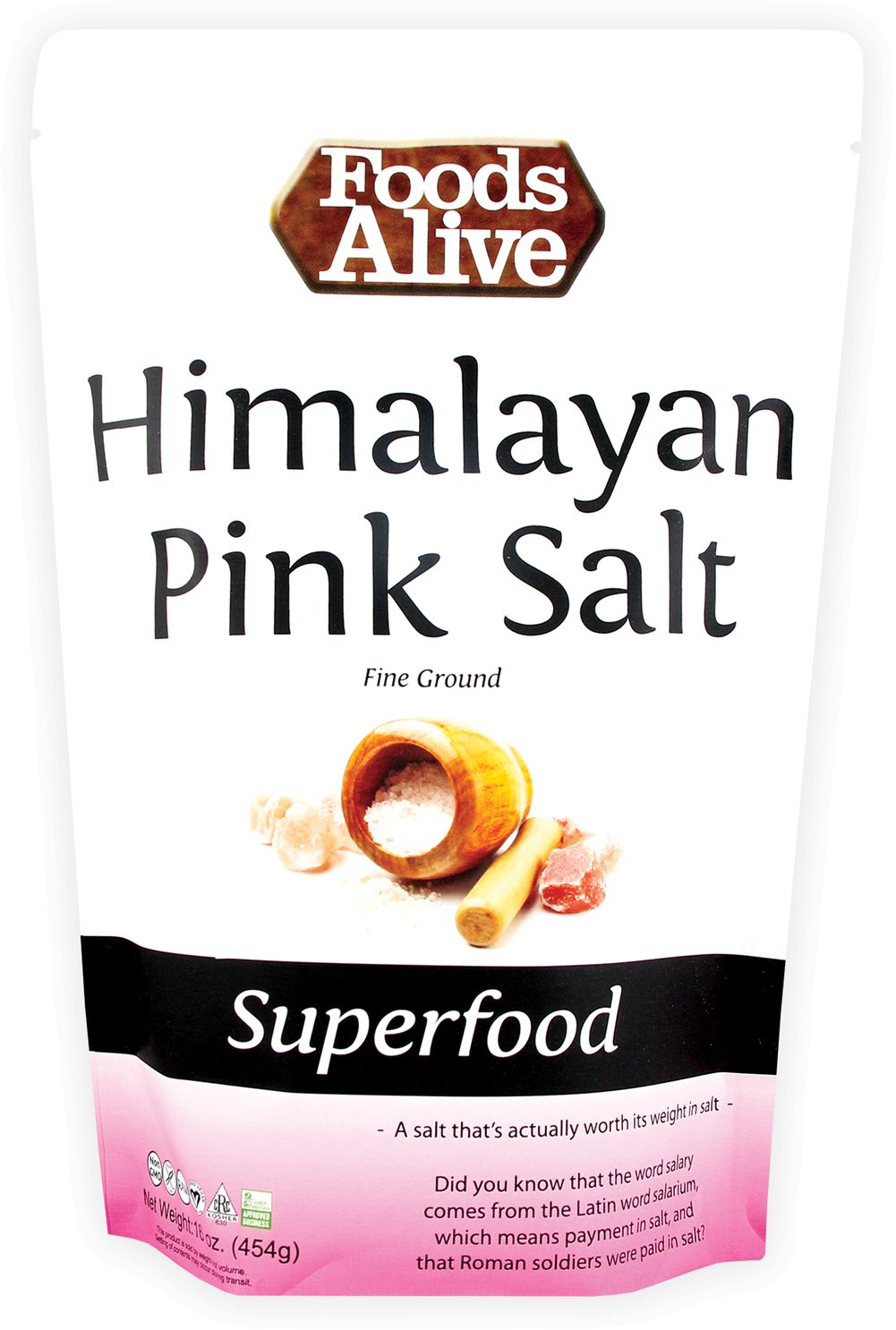 Himalayan Pink Salt Thumbnail Alternate Bottle View