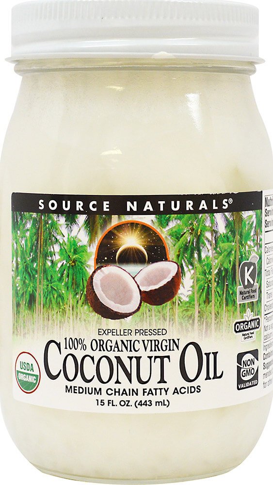 100% Organic Extra Virgin Coconut Oil