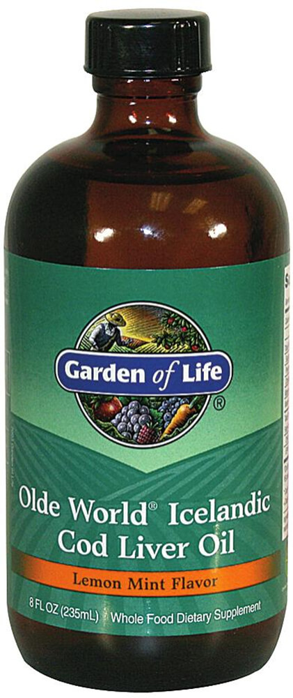 Olde World® Icelandic Cod Liver Oil Lemon Mint