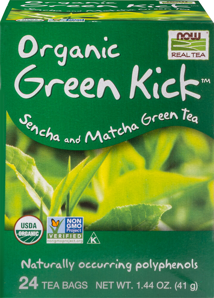 Organic Green Kick™ Sencha & Matcha Green Tea