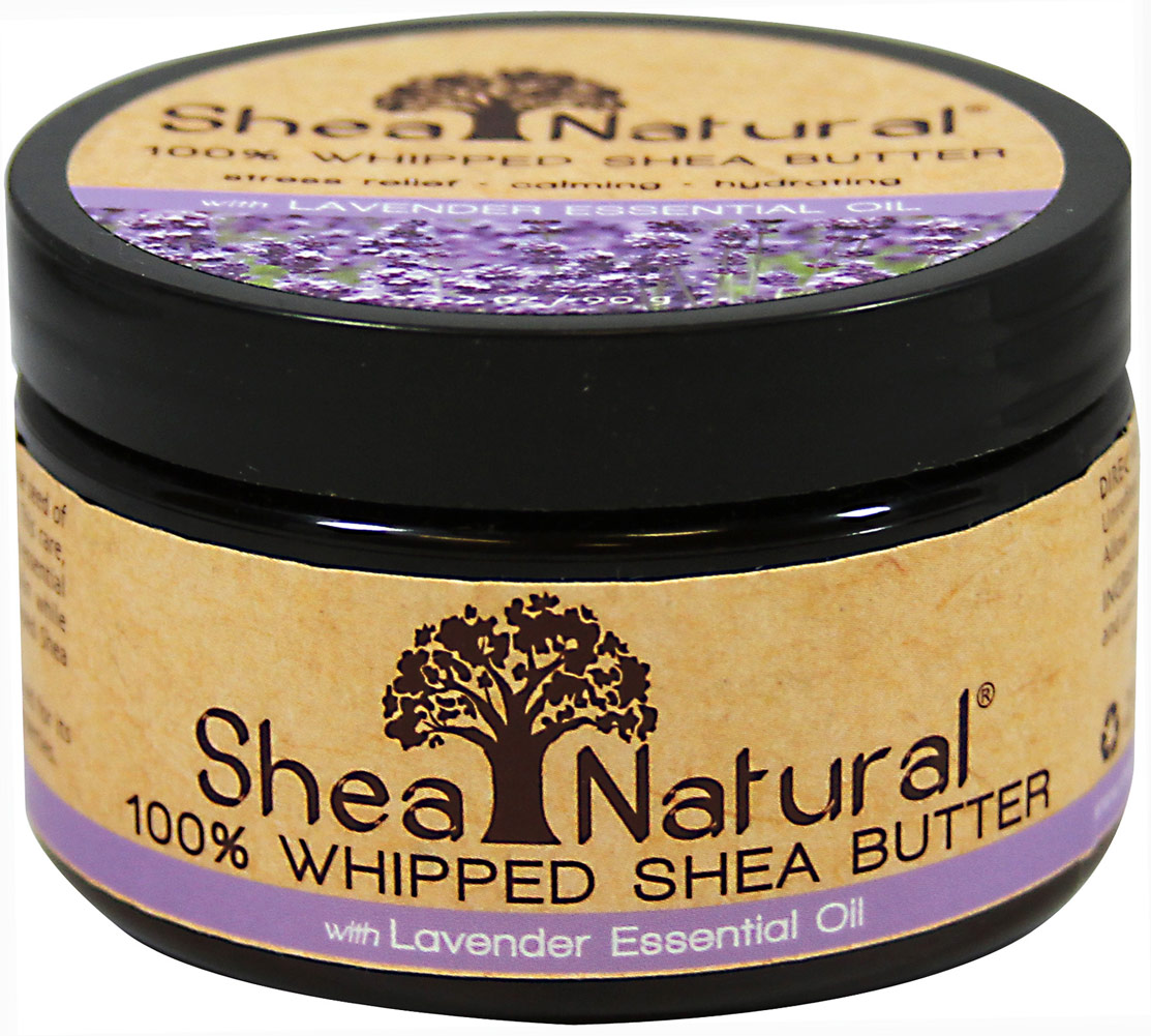 Lavender Essential Oil 100% Whipped Shea Butter