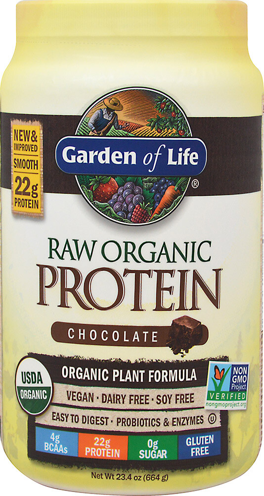 Raw Organic Protein Chocolate