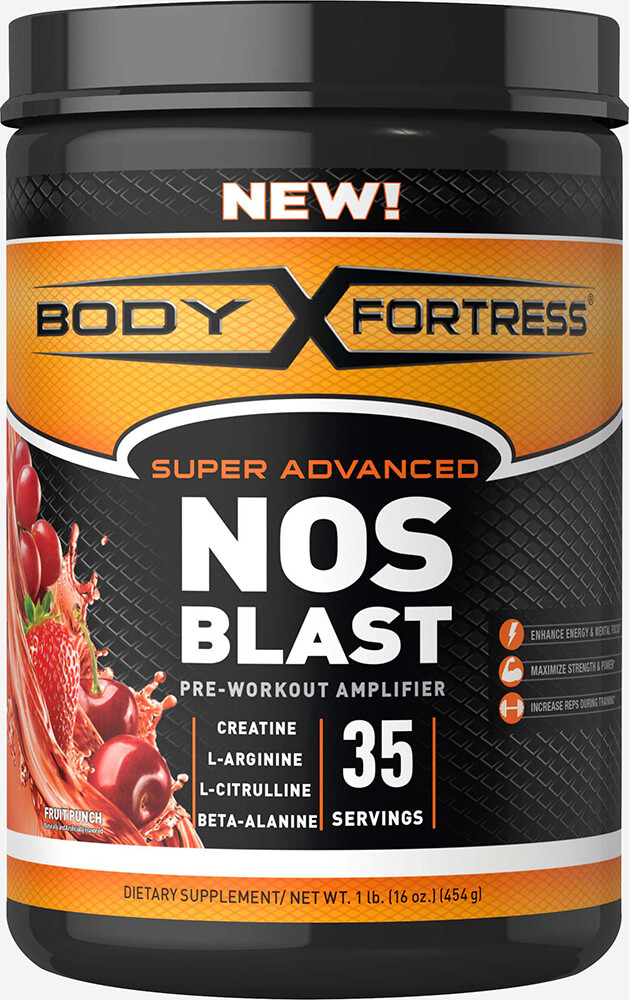 Super Advanced NOS Blast Fruit Punch