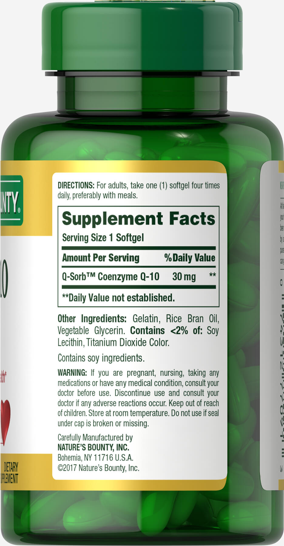 Nature's Bounty Co Q-10 30mg