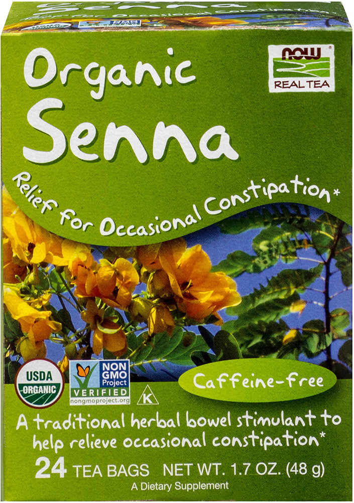 Organic Senna Tea Thumbnail Alternate Bottle View