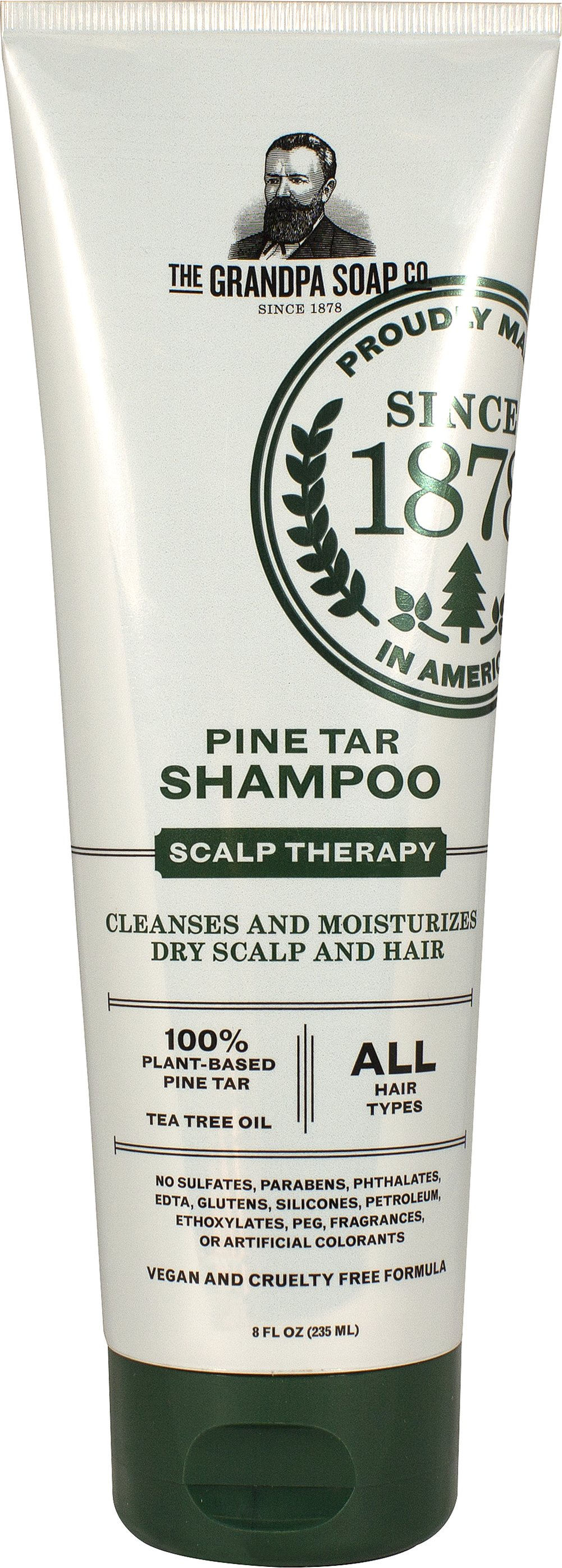 Pine Tar Shampoo Thumbnail Alternate Bottle View