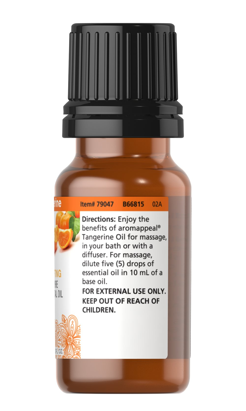 Tangerine 100% Pure Essential Oil