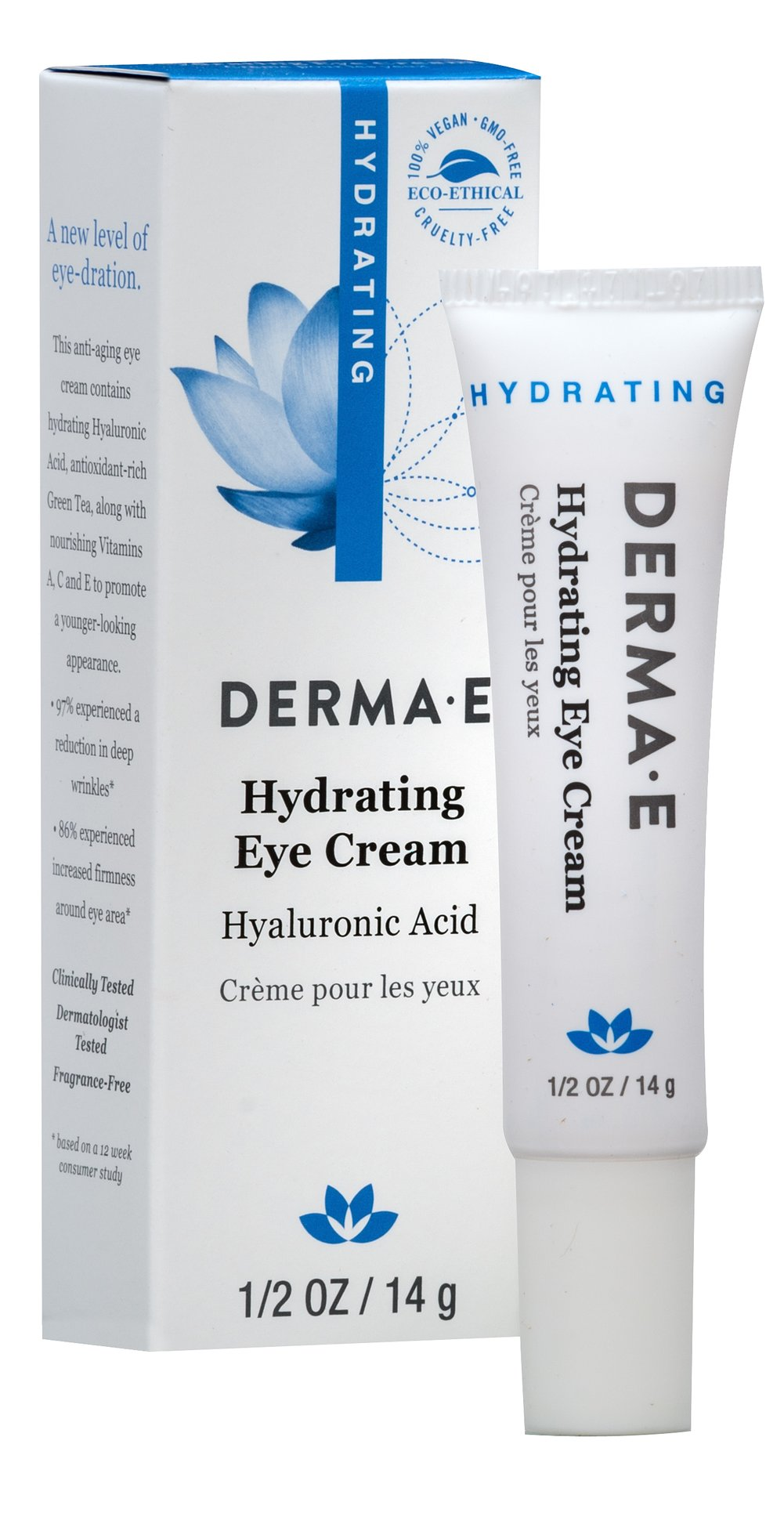 Derma E® Hyaluronic & Pycnogenol® Eye Crème Thumbnail Alternate Bottle View