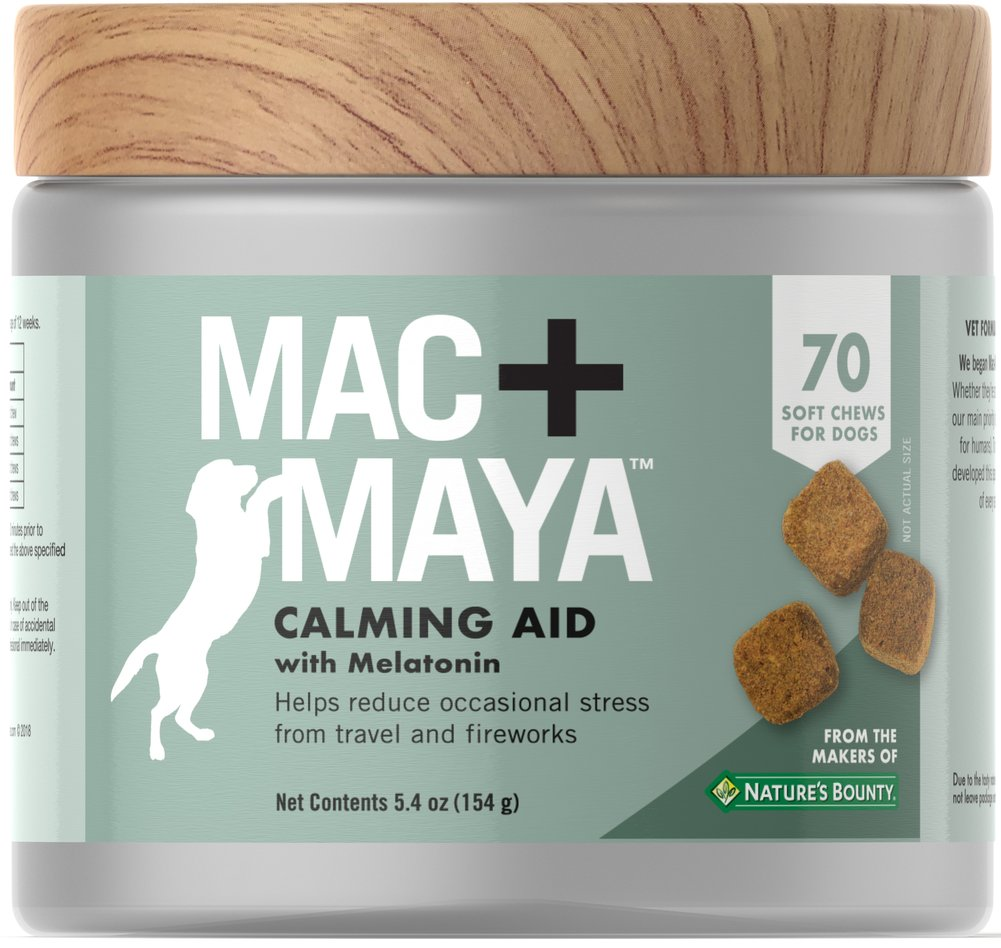 Calming Aid with Melatonin for Dogs