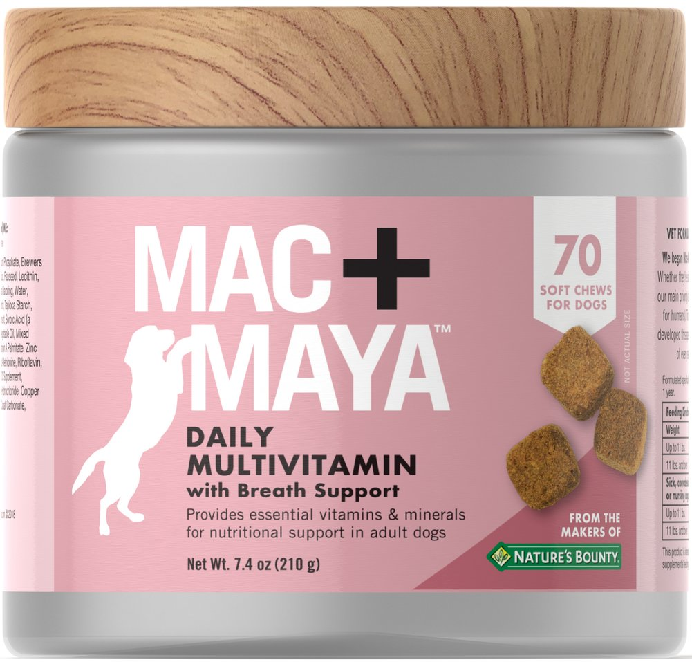 Daily Multivitamin with Breath Support for Dogs
