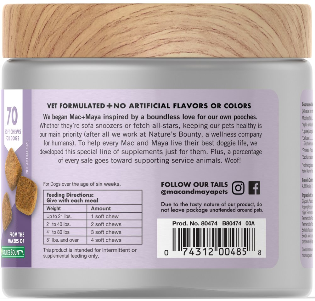 Digestive Health with Probiotics for Dogs