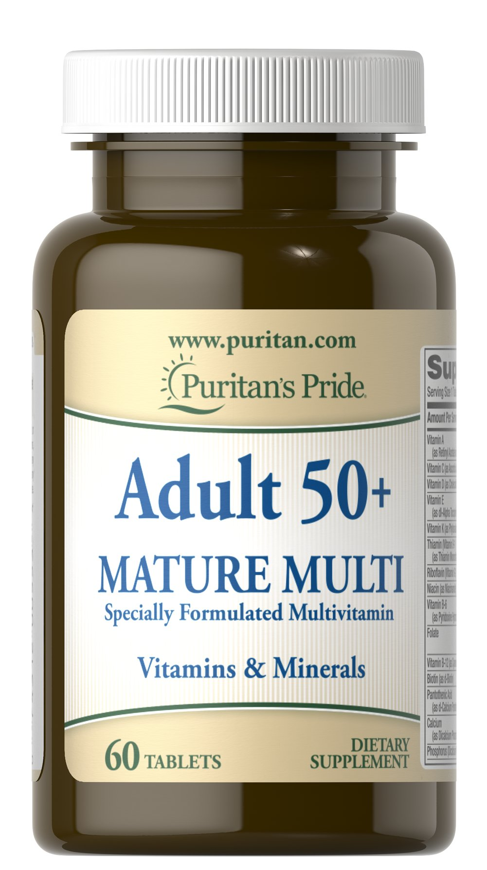 Adult 50+ Mature Multivitamin
