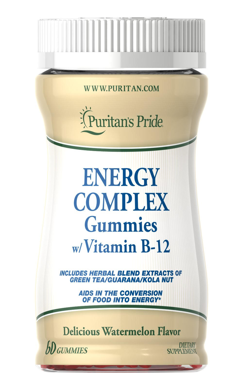 Energy Complex Gummies w/ Vitamin B-12 Thumbnail Alternate Bottle View