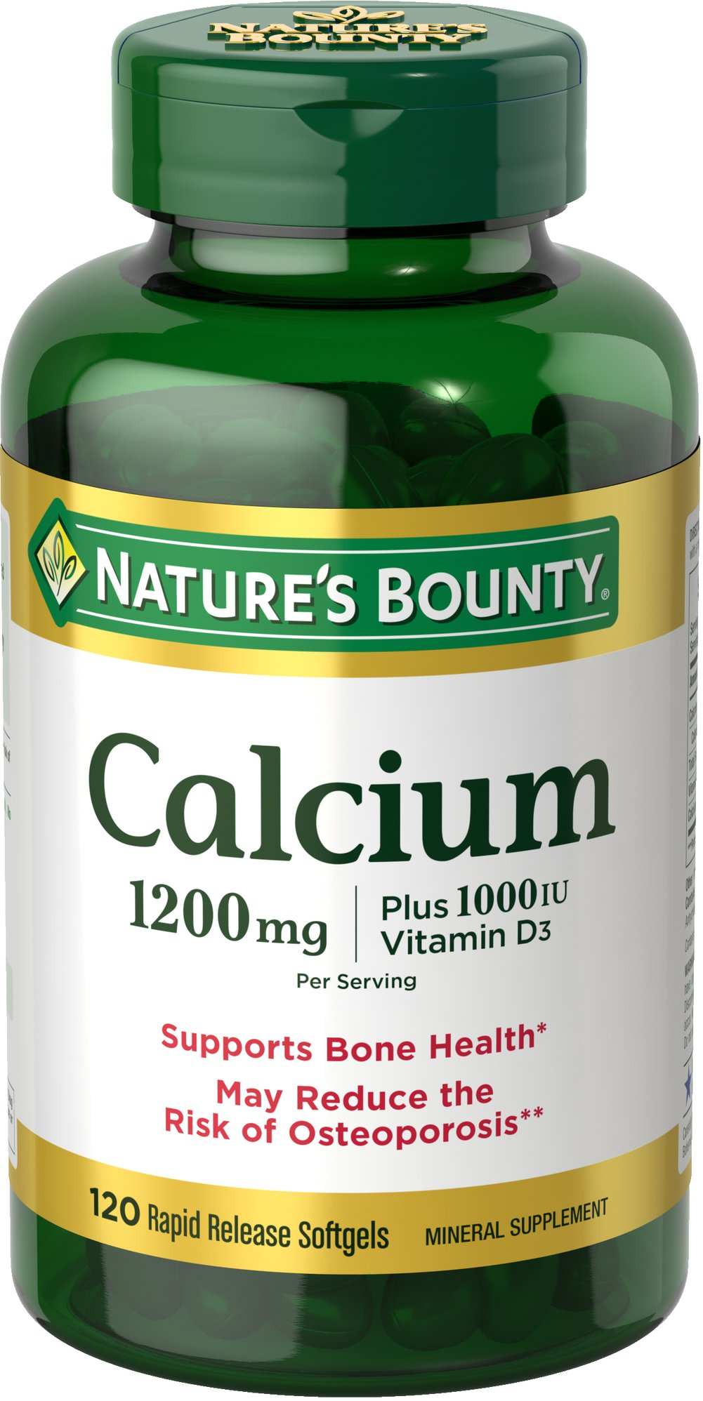 Nature's Bounty® Calcium plus Vitamin D