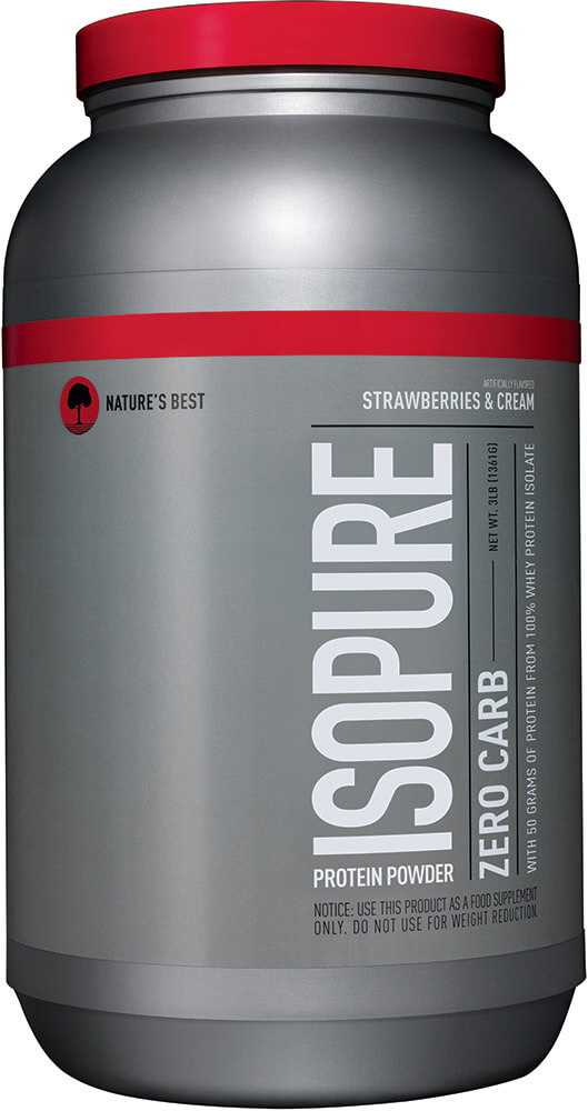 Isopure Zero Carb Whey Protein Isolate Strawberry & Cream