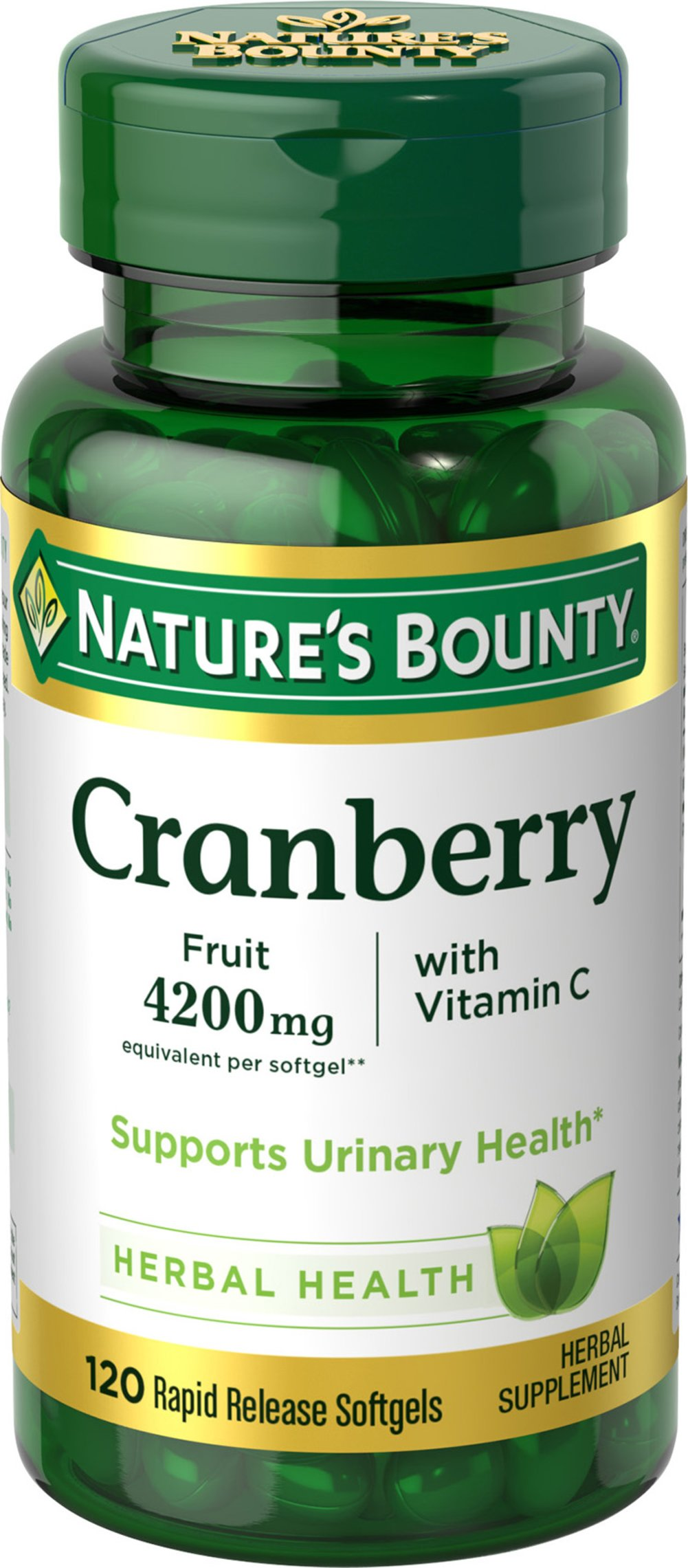 Nature's Bounty® Cranberry plus Vitamin C