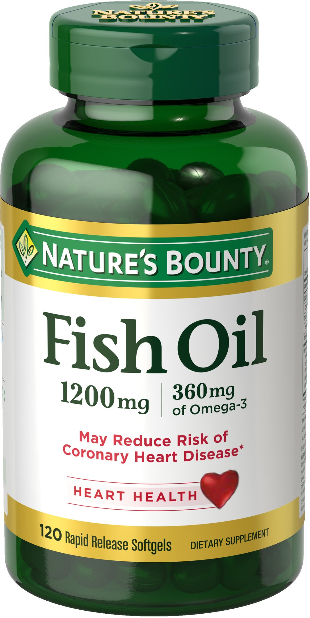 Nature's Bounty® Odorless Fish Oil 1000MG