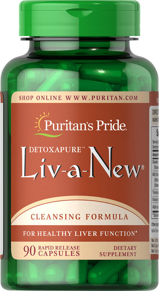 Liv-A-New® Thumbnail Alternate Bottle View
