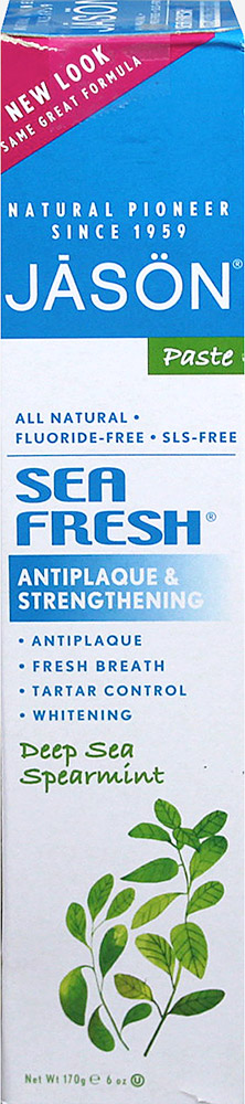 Jason® Sea Fresh® All Natural Toothpaste